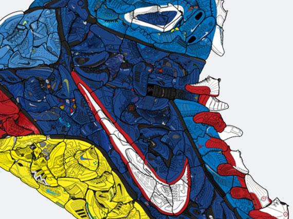 nike hyperdunk sneaker collage sneakernewscom