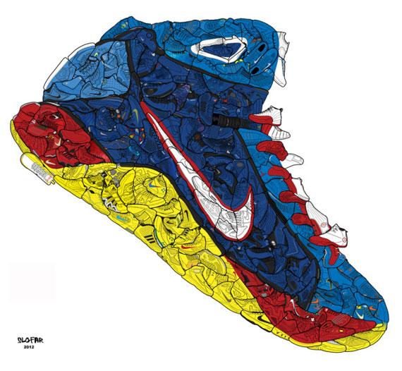 Jordan Shoe Collage