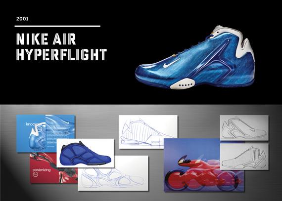 183d9e2d88f5 20 Years Of Nike Basketball Design  Air Hyperflight (2001 ...