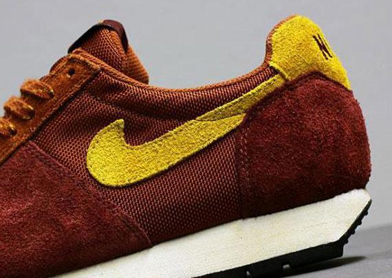 Nike Air Lava Dome – Henna – Dark Gold Leaf – Team Red
