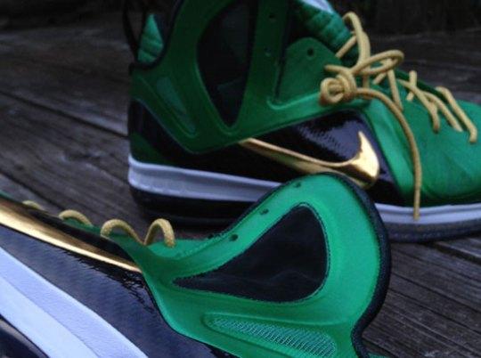 "Nike LeBron 9 Elite ""SVSM"" Customs by Mache"