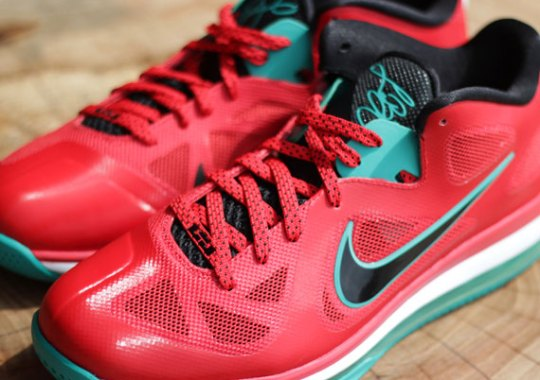 """Nike LeBron 9 Low """"Liverpool"""" – Arriving at Retailers"""