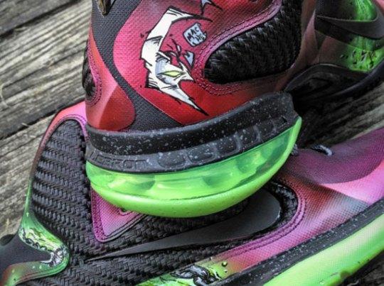 "Nike LeBron 9 ""Spawn"" Customs by Mache"