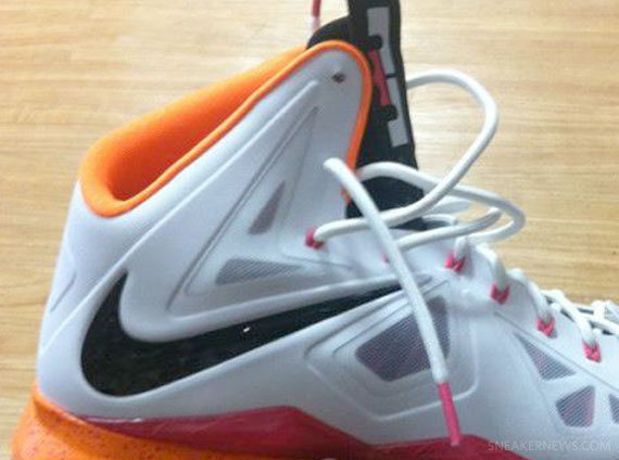 Nike LeBron 10 X Floridians Home