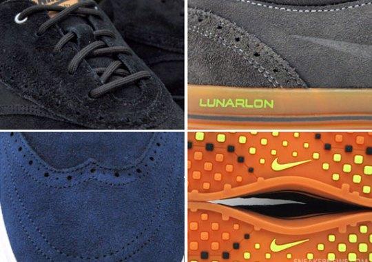 the latest cf1fa 4eff0 Nike Lunar Swingtip Suede
