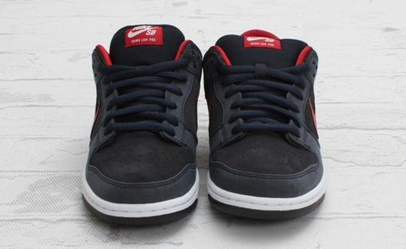 Dunk Low Nike Sb Ossidiana Scura Da Ginnastica Rosse 11s 1iJv93t