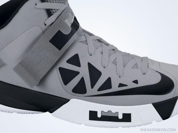 Genuine Nike Zoom Soldier VI 6 University Red Wolf Grey Black Le