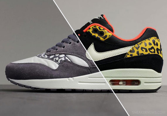 "save off 53697 3d994 Nike WMNS Air Max 1 ""Leopard Pack"" – October 2012"