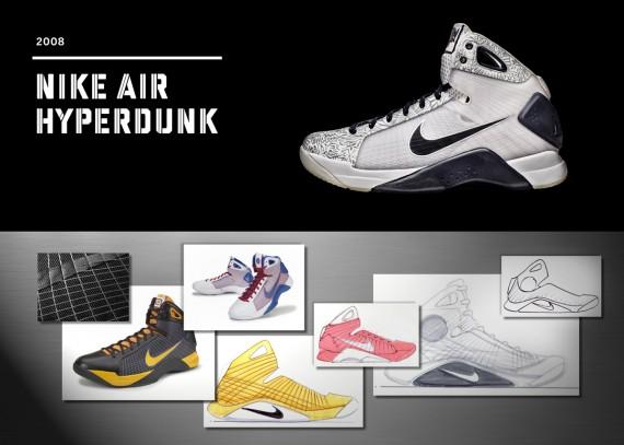 20 Years Of Nike Basketball Design: Air Hyperdunk (2008)