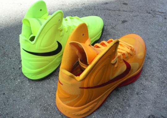 "Nike Zoom Hyperfuse 2012 ""Brazil"" + ""China"""