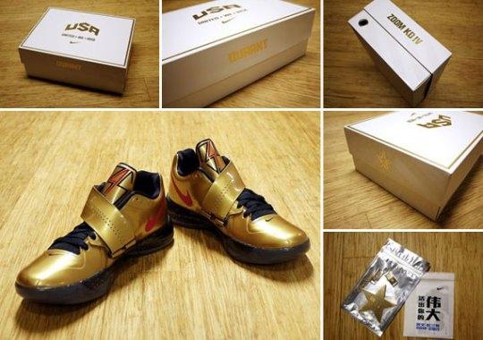 "Nike Zoom KD IV ""Gold Medal"" – United We Rise Packaging"