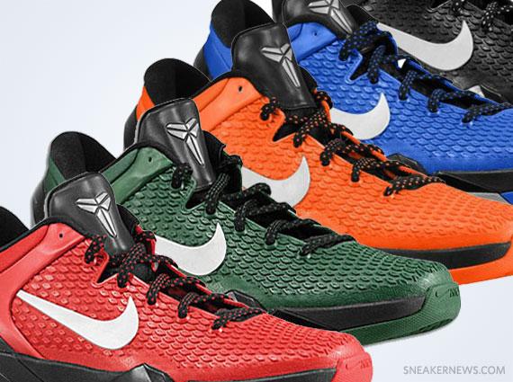 Nike Zoom Kobe VII - TB Colorways - SneakerNews.com 26ae7ddb2
