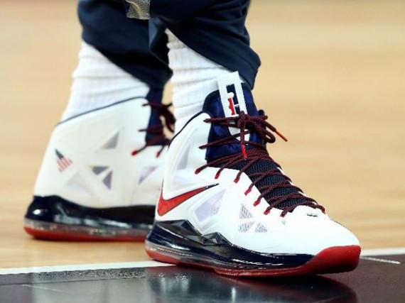 Nike LeBron X quot USAquot PE