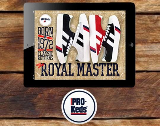PRO-Keds Royal Master iPad 2 Giveaway