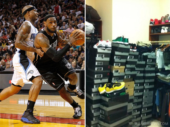Celebrity Sneaker Collections