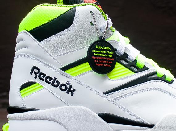 bfdc95919aff6c Reebok Pump Twilight Zone - Neon - Black - White - SneakerNews.com