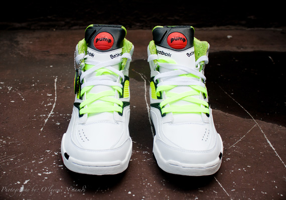 1e6a46c762f6 Reebok Pump Twilight Zone - Neon - Black - White - SneakerNews.com