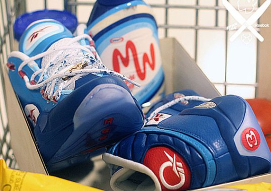 """Reebok Question """"Miracle Whip"""" Customs by PMK for Questlove"""