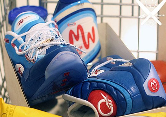 "Reebok Question ""Miracle Whip"" Customs by PMK for Questlove"