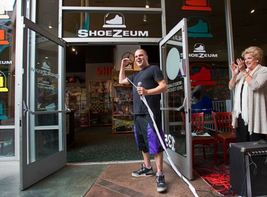 ShoeZeum Re-Opens in Las Vegas