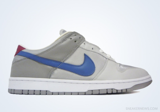 """Classics Revisited: Nike Dunk Low """"Silver Surfer"""" (2004)"""