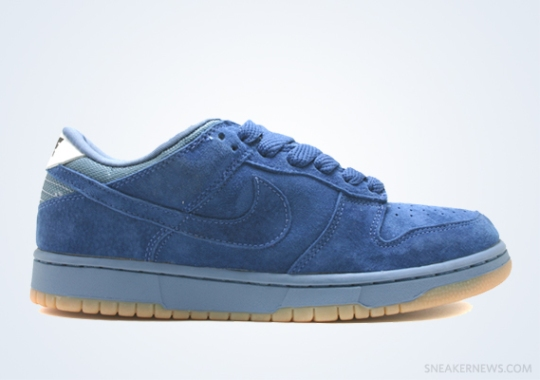 """Classics Revisited: Nike Dunk Low Pro B """"Smurf"""" (1999)"""