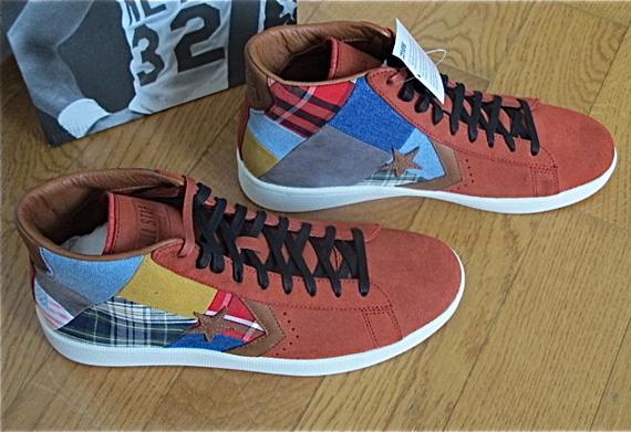 ... stussy new york crew x converse pro leather ... 488961fa8c