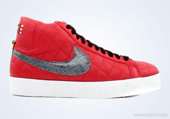 red supreme blazers
