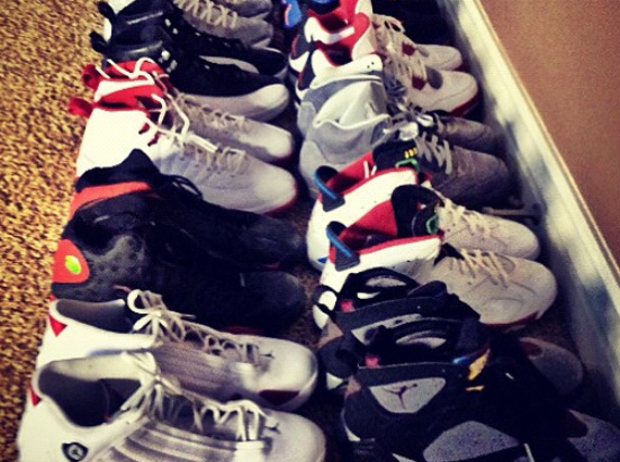 Game Shows Off Air Jordan Collection