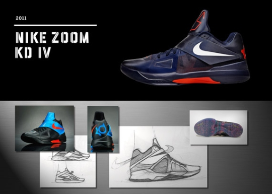 20 Years Of Nike Basketball Design: Zoom KD IV (2011)