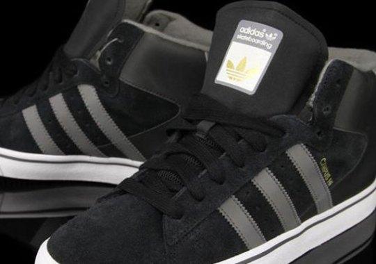 adidas Skate Campus Vulc Mid – Black – Cinder