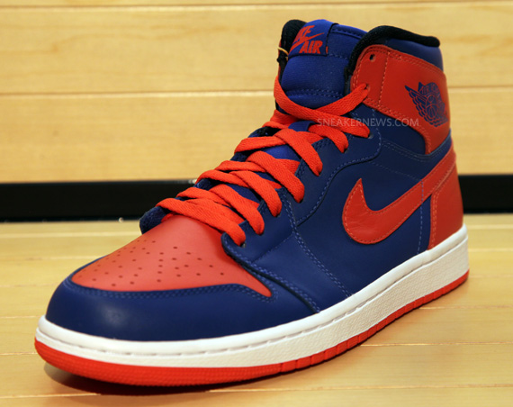 Air Jordan Blue Orange