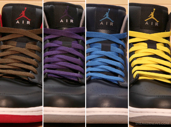 "low priced 5575a f409d Air Jordan 1 Phat – Holiday 2012 ""Rip-Stop"" Collection"