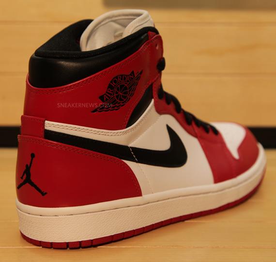 Air Jordan 1 Retro High - White - Red - Black - SneakerNews.com a11e37538c