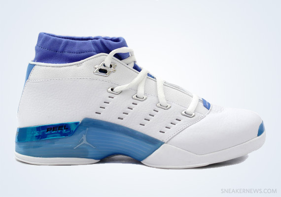 Classics Revisited: Air Jordan XVII Low – White – University Blue (2002)