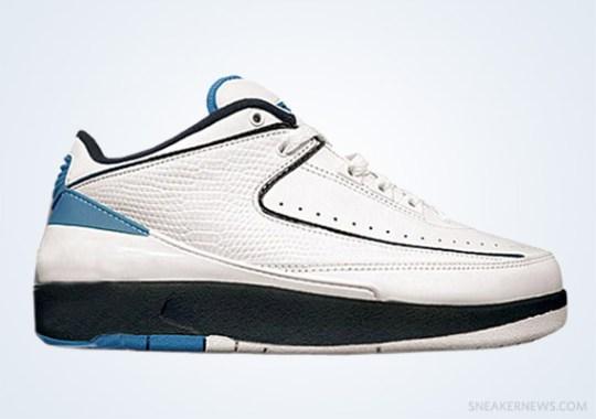 Classics Revisited: Air Jordan II Low – White – Midnight Navy – University Blue (2004)