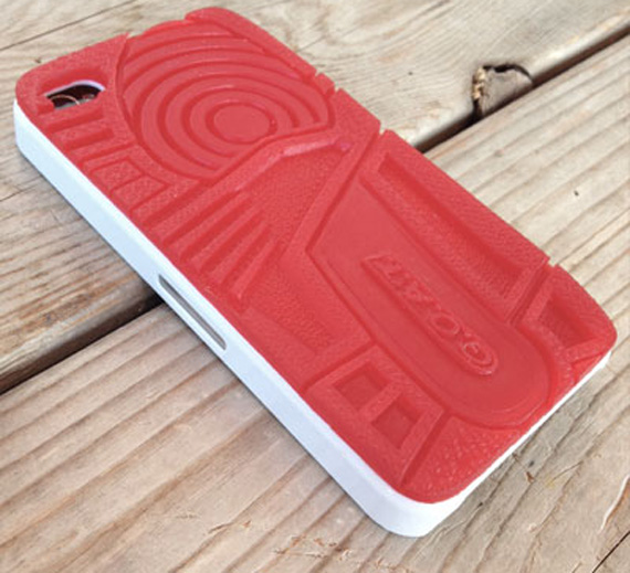 Air Jordan III Inspired GOAT IPhone Case By Quincy Design Co