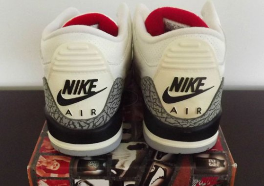 "Air Jordan III ""White/Cement"" – 1994 Retro on eBay"