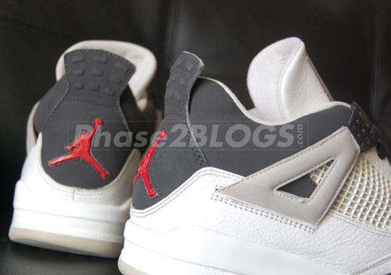 Air Jordan IV - Black - White - Red  e2a2b36c15