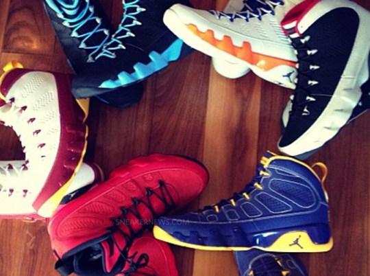 Air Jordan 9 'Kilroy Pack'