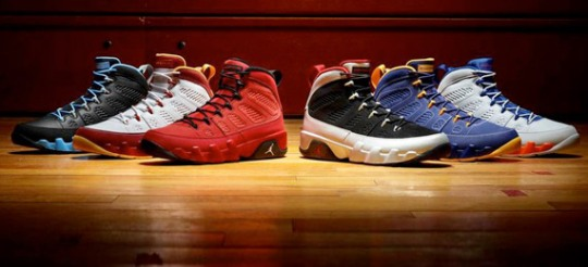 "Air Jordan IX ""Kilroy Pack"" – Release Dates"