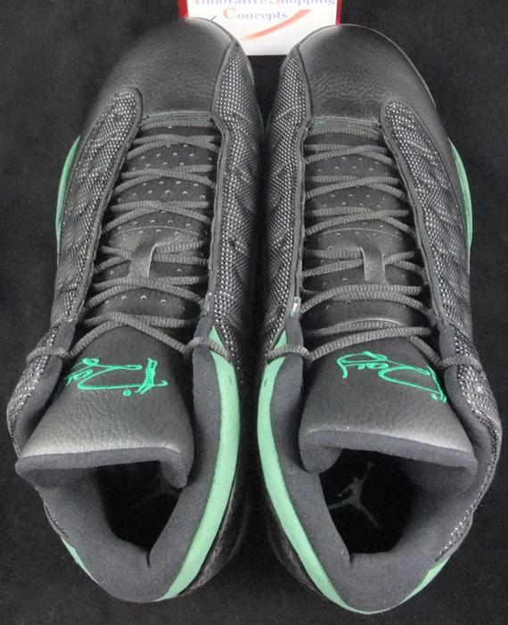 best service 4caf8 a9555 Air Jordan XIII - Ray Allen Celtics Away PE - SneakerNews.com