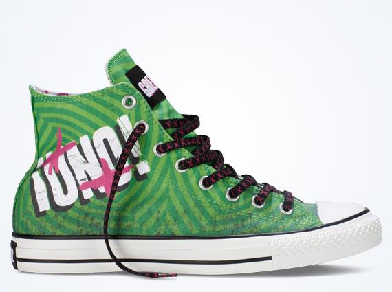 162ab27b5b59 Green Day x Converse Chuck Taylor All Star