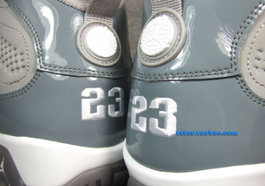"""Cool Grey"" Air Jordan IX"