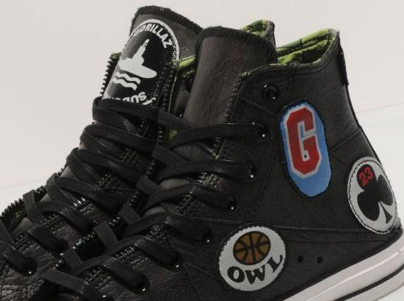 9032574ef10 Gorillaz x Converse All Star Hi Motorcycle Jacket - SneakerNews.com