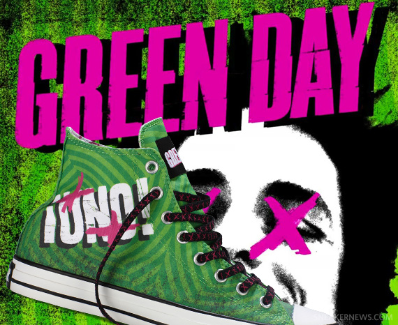 green day x converse chuck taylor all star quot161uno