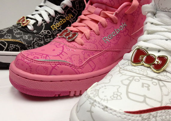 lowest price 1296e aeaa9 Hello Kitty x Reebok PT-20