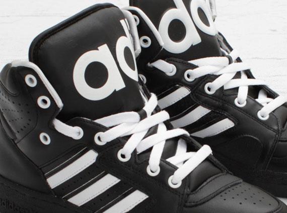 wholesale dealer a8d87 8b547 Jeremy Scott x adidas Originals JS Instinct Hi – Black White