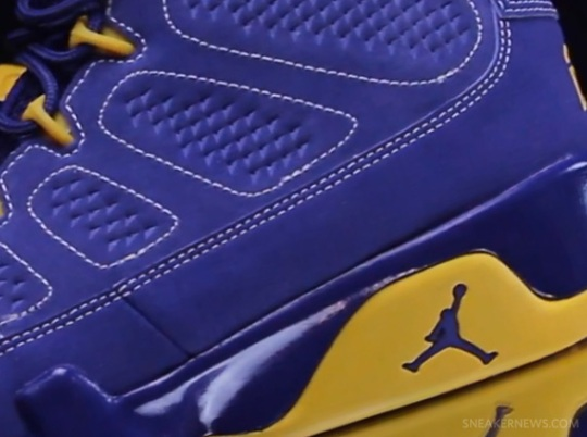 "Air Jordan IX ""Calvin Bailey"" – Video Review"