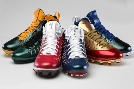 Jordan Super.Fly Cleats NFL PE Collection